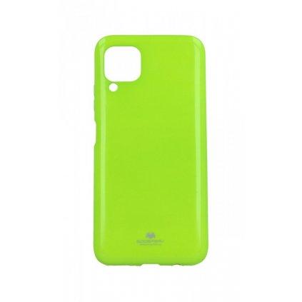 Zadný silikónový kryt Mercury Jelly Case na Huawei P40 Lite limetkový