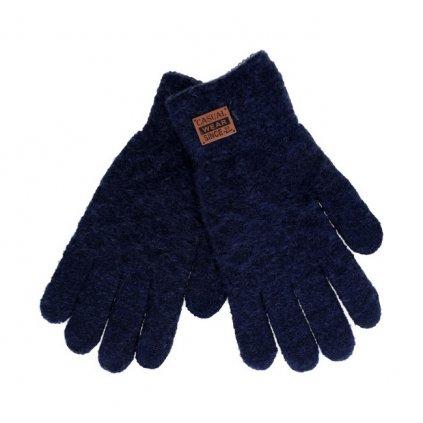 Dotykové rukavice pre mobilný telefón modré veľ. M / L