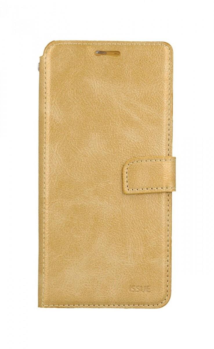 Puzdro Molan Cano Issue Diary Xiaomimi Redmi 9T Flipové zlaté 57586