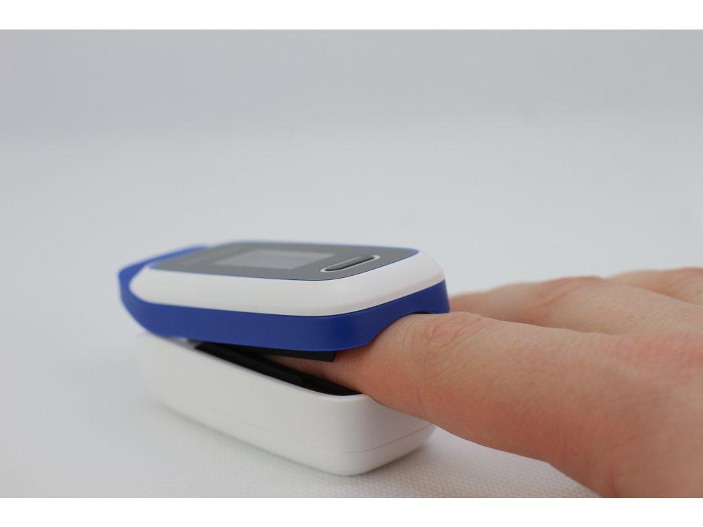 Pulzní oxymetr: Použití, měření a jak funguje