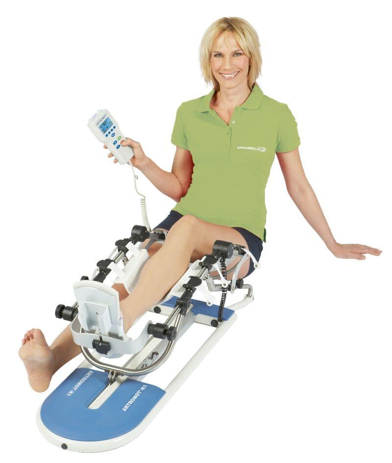 Přehled motodlah: Vyberte si po operaci končetiny vhodný rehabilitační přístroj