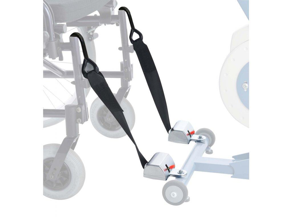 Fixace vozíku