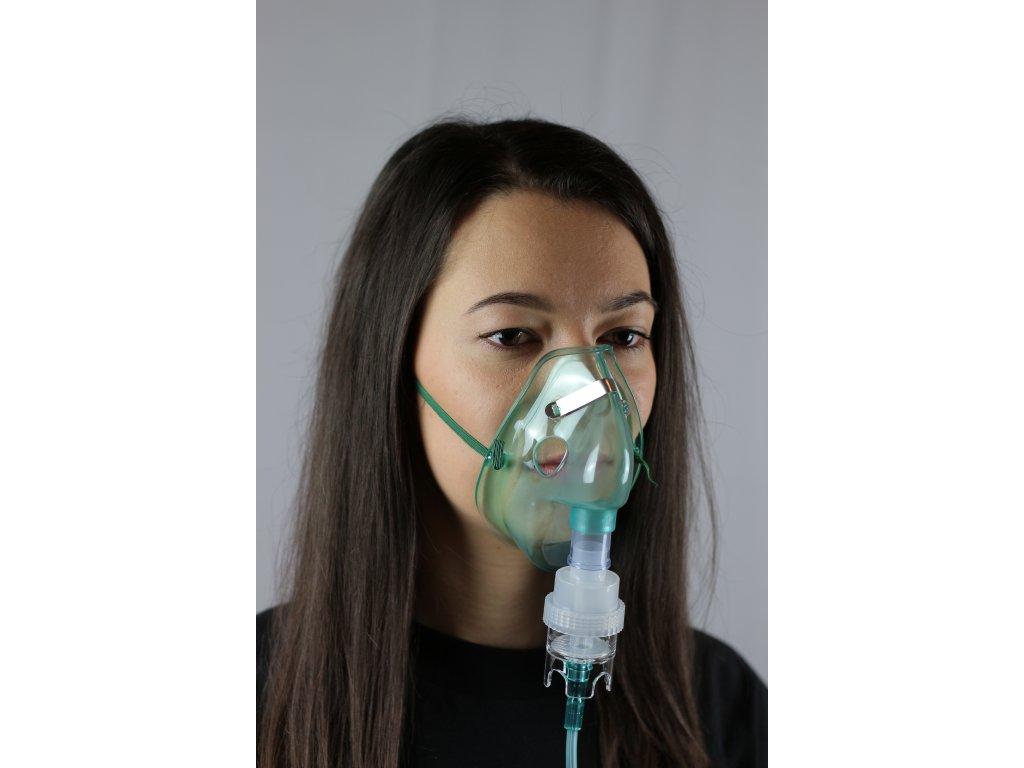 Kyslíková maska s NEBULIZÁTOREM - DĚTSKÁ