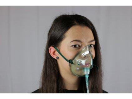 Dýchací maska ke kyslíkovému koncentrátoru