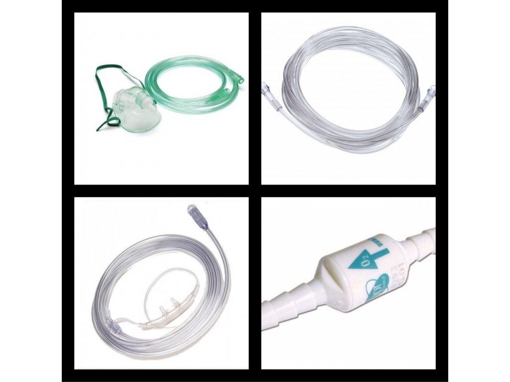 Set príslušenstvo pre kyslíkový koncentrátor - PLUS