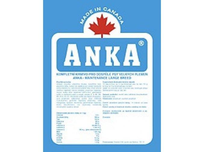Anka Maintenance Large Breed 20 kg