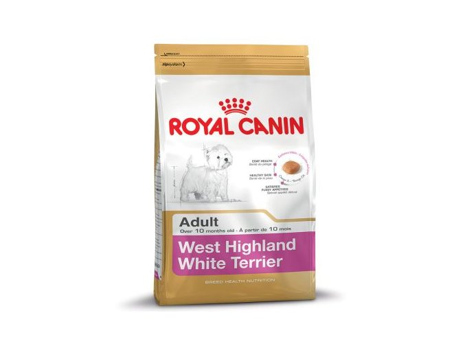 61176 PLA rgb Royal Canin Breed West Highland White Terrier Adult 3kg 6