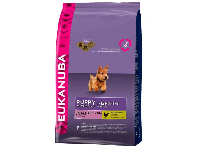 Eukanuba, Puppy Junior Small, 3 kg