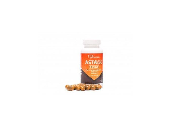 Bonaloka Astaxanthin Caps Orange 90 kapslí