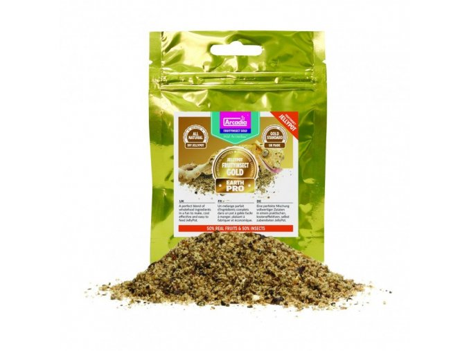 Arcadia EarthPro JellyPot Gold FruityInsect 50 g