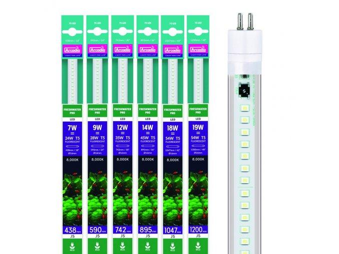 Arcadia JUWEL Freshwater T5 LED 8000K 48W 1200mm