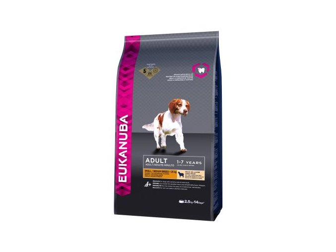 eukanuba adult small medium l