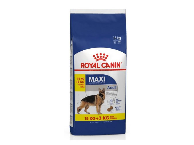 royal canin maxi adult 15 3kg zdarma original