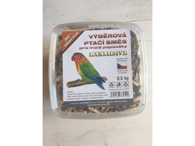 Výběrová ptačí směs pro malé papoušky EXCLUSIVE od SOBA