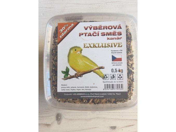 Výběrová ptačí směs kanár EXCLUSIVE od SOBA