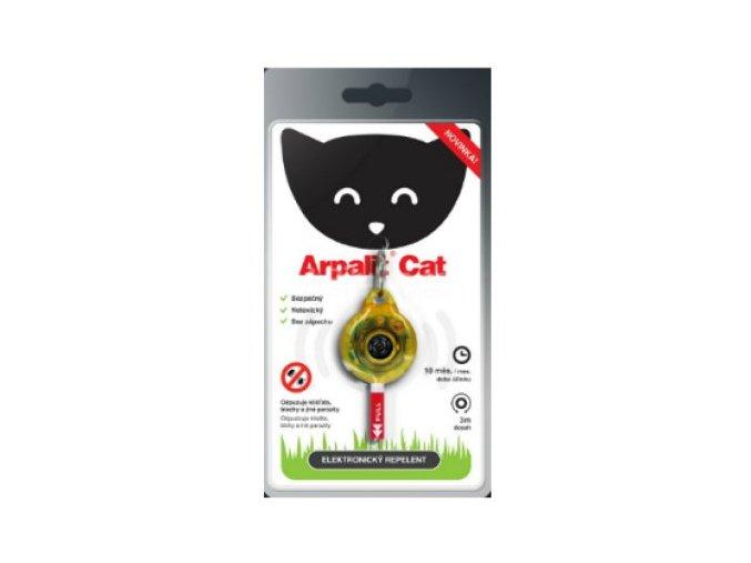 Arpalit Cat Žlutý - elektr. odpuzovač blech a klíšťat