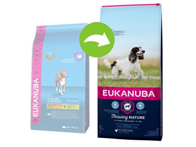11715 eukanuba thriving mature medium vorhernachher 9