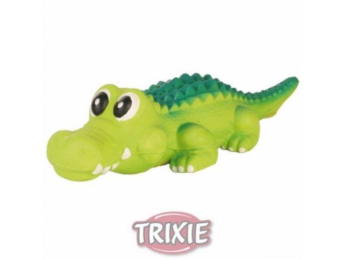 Latexový krokodýl - pískací