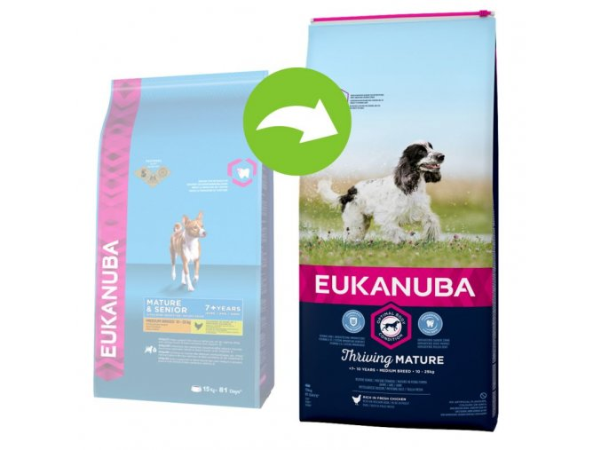 11715 eukanuba thriving mature medium vorhernachher 9