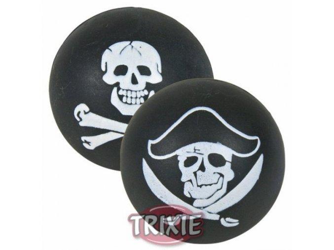 Hračka pro psy - Molitanový míček s pirátským motivem