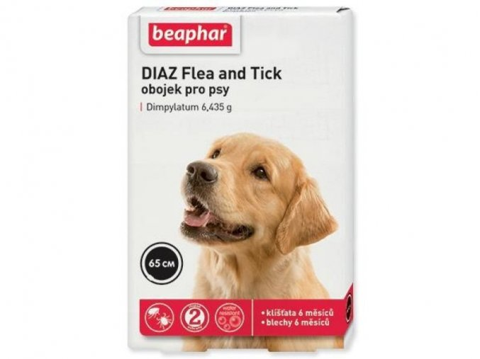 Beaphar DIAZ antiparazitní obojek pes 65 cm