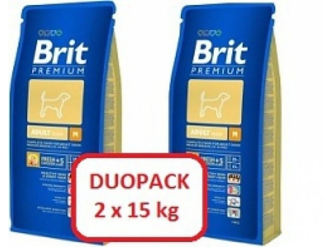 Brit Premium Adult M 2x15kg