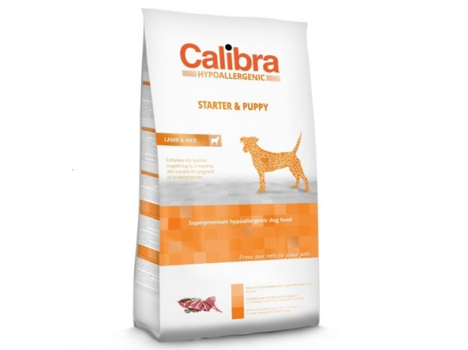Calibra Dog Starter & Puppy Lamb 2,5 kg