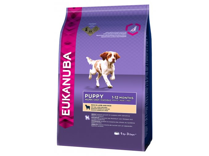 eukanuba puppy junior lamb 1kg original