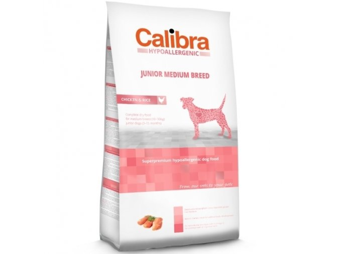 Calibra Dog HA Junior Medium Breed Chicken 3kg