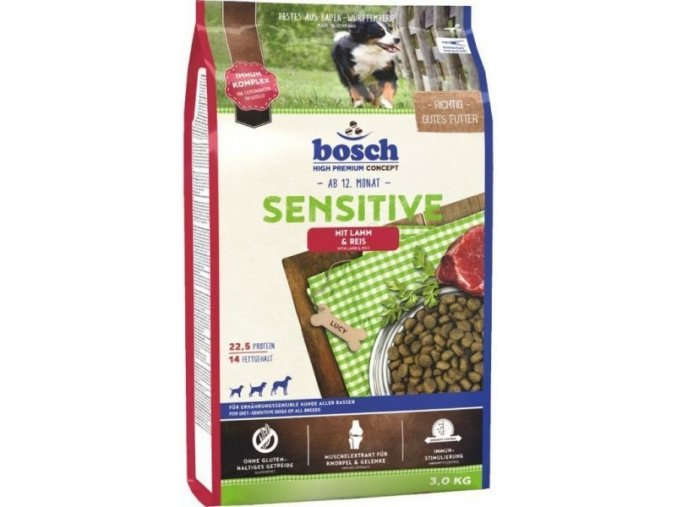 Bosch HPC Sensitive Lamb & Rice 15 kg