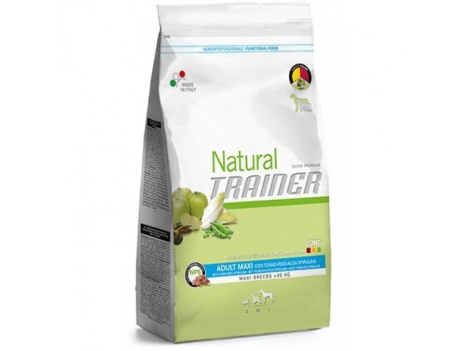 Nova Foods Trainer Natural Adult Maxi tuňák 12,5 kg