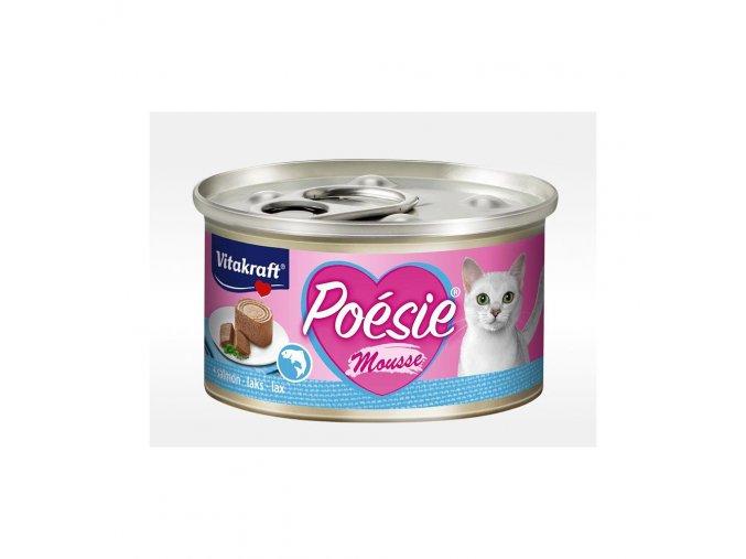 Vitakraft Cat Poésie konz. paté paštika losos 85 g