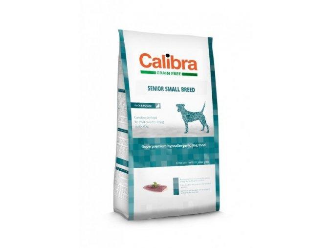 Calibra Dog GF Senior Small Breed / Duck & Potato 7kg