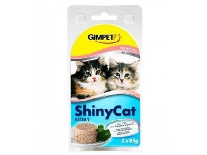 Gimpet ShinyCat Junior kure 2 x 70 g