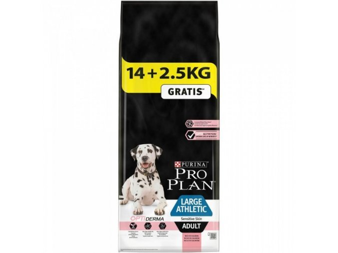Pro Plan Large Adult Athletic Sensitive Skin Salmon 14 + 2,5kg