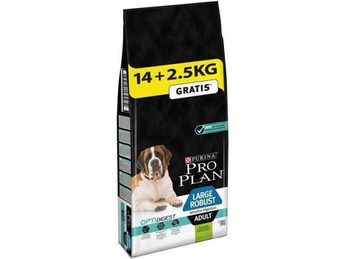 Pro Plan Large Adult Robust Sensitive Digestion 14 + 2,5kg