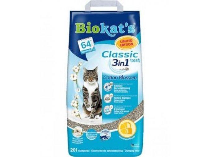 Biokat's Classic Cotton Blossom - 10 Kg
