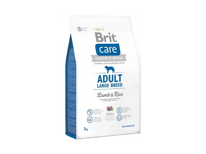 brit care adult large breed lamb amp rice 3kg small product