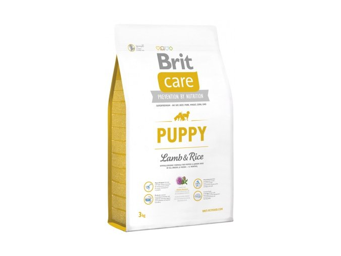 brit care puppy lamb amp rice 3kg small product