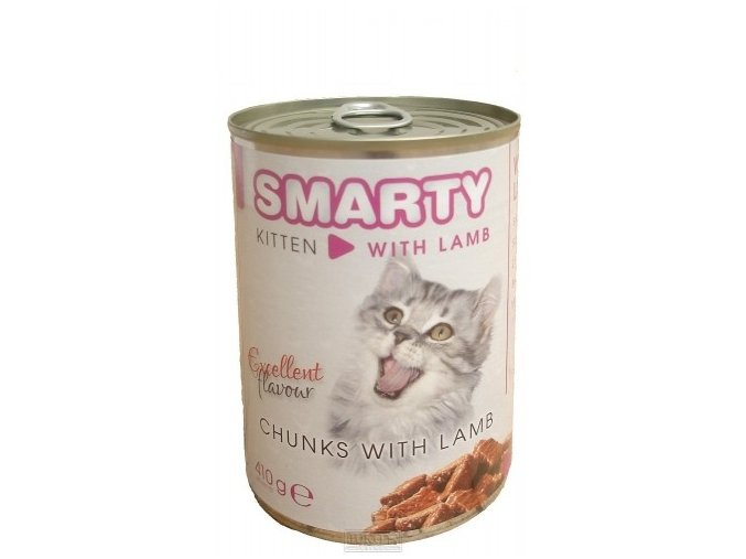 Smarty chunks Junior Cat jehněčí 410 g
