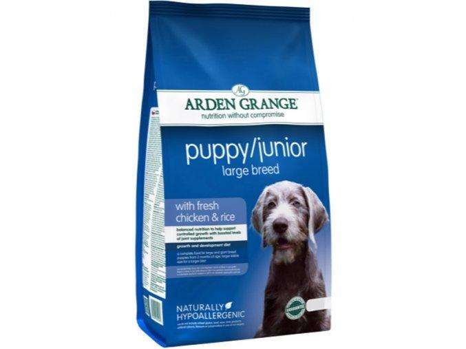 Arden Grange Dog Puppy Junior Large Breed Chicken & Rice 24 kg (2 x 12 kg)