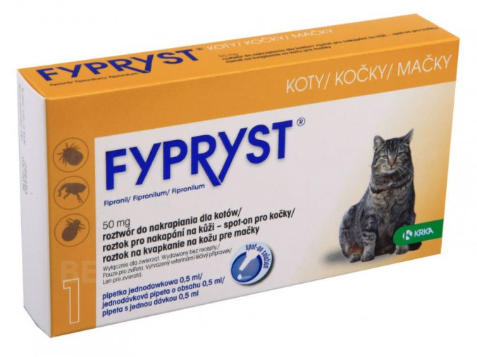 Krka Fypryst Spot On Cat 1 x 0,5 ml