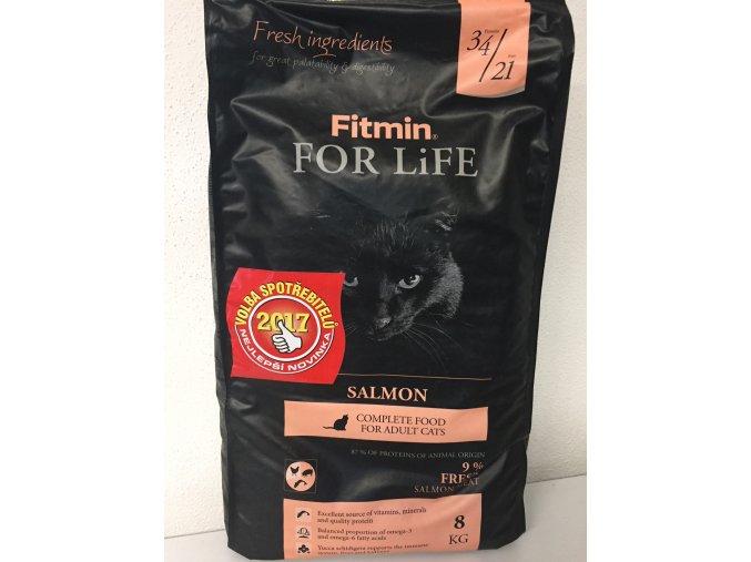Fitmin Cat For Life Salmon 8 kg