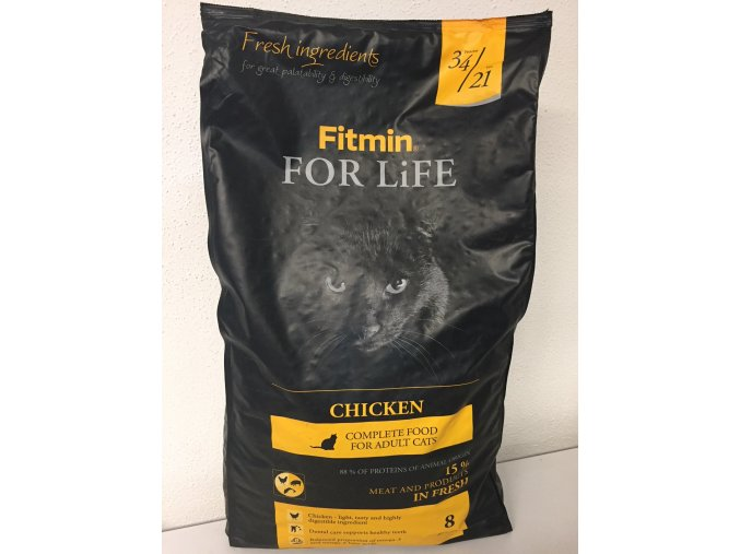 Fitmin Cat For Life Chicken 1,8 kg
