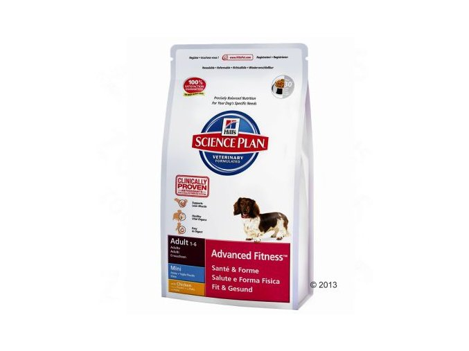 6678 canine adult advanced fitness mini mit huhn 3kg r 9