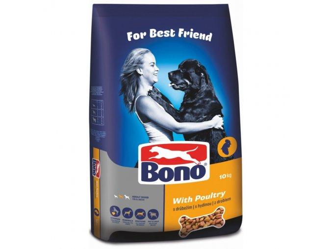 Bono Adult drůbeží 10+2 kg