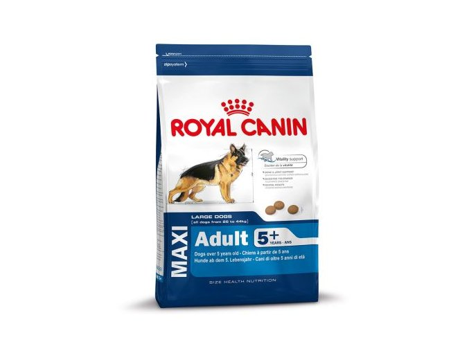 61095 PLA rgb Royal Canin Size Maxi Mature Adult 5 15kg 6