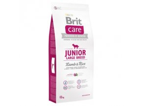 68253 pla brit care junior large breed lamb rice 1