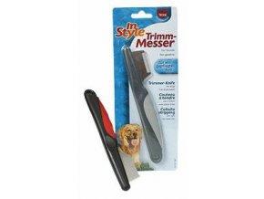 Trimovací nůž pro úpravu srsti hlavy