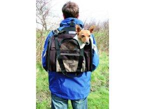 T bag Deluxe - batoh a taška s možností připnutí na konstrukci s kolečky